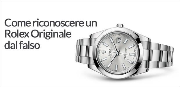 riconoscere orologio falso