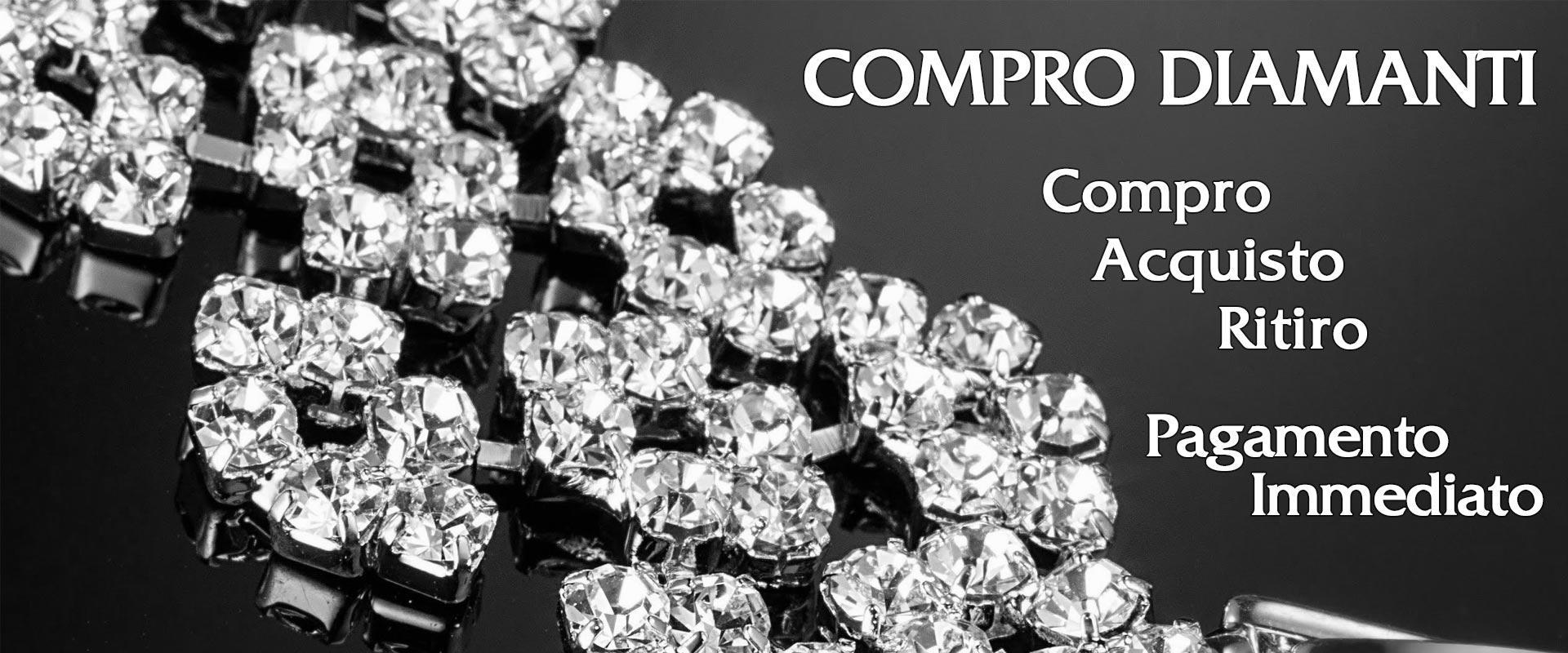 Compro diamanti usati