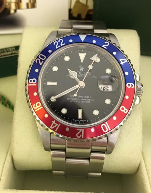 Rolex GMT-Master II Stick Dial Pepsi Like-1