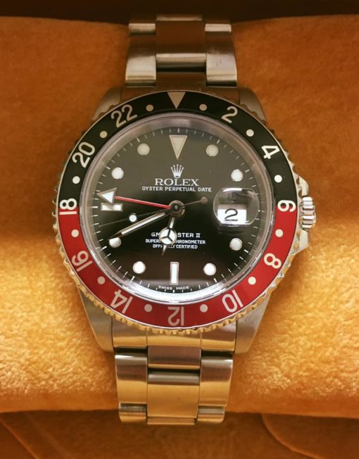 Rolex GMT-Master II Ghiera Red-Black-1